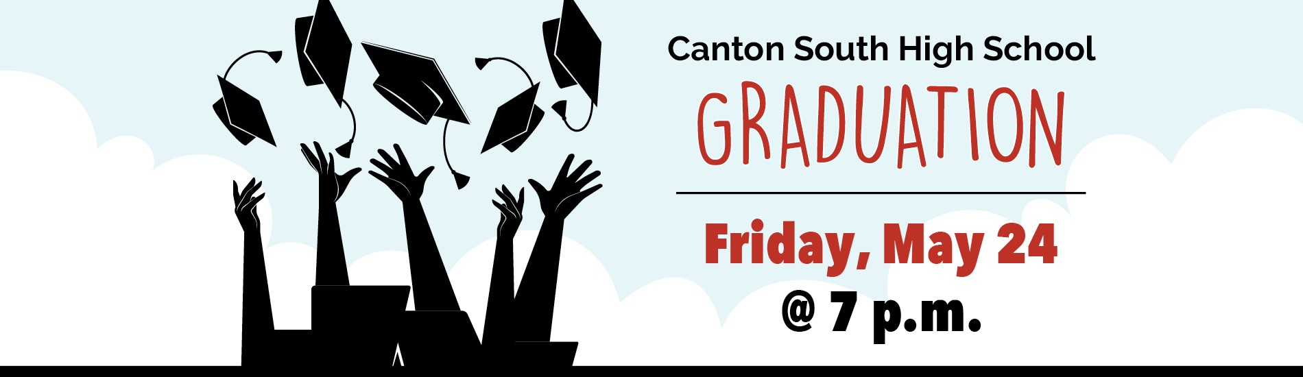 CSHS Graduation May 24 at 7:00 p.m